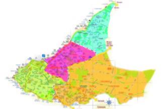 carte 4 quartiers