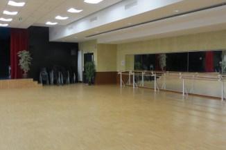 Salle DUMET côté danse miroir