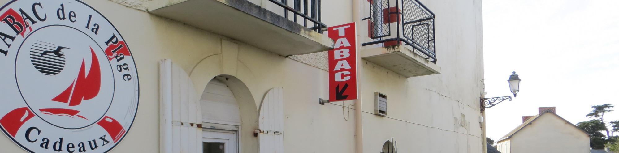 Bandeau de la page 'Tabac Presse