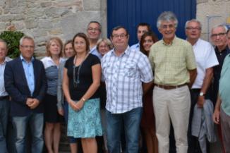 Equipe Municipale : X. Sachs, G. Renaudeau, P. Leclair, G. Nadeau-Mabo, C. Mabo, E. Legouic, R. Coppens, M. Jair, M. Volland, X. Herruel, M. Timbo-Cornet, P. Chainais, J-C. Ribault, G. Lerebour, D. Eloi. abs. G. CORNET, A. MAHE, C. JANOT.