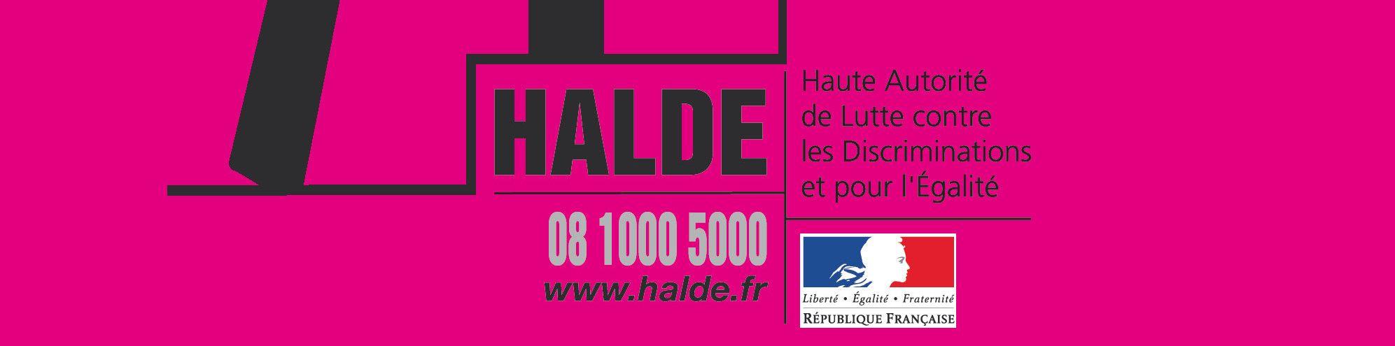 Bandeau de la page 'HALDE : Lutte contre les discriminations