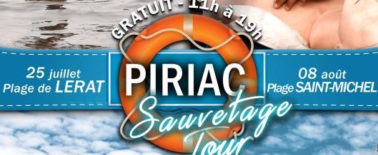affiche Piriac sauvetage tour 2016